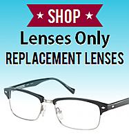 Customer's Frame with Prescription Lenses