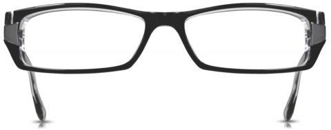 Cinzia Black Eyeglasses CB-01