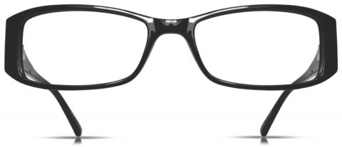 Cinzia Black Eyeglasses CB-03