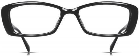 Cinzia Black Eyeglasses CB-05