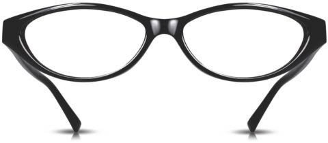 Cinzia Black Eyeglasses CB-07