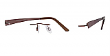 Invincilites By Zyloware Eyeglasses Zeta L Chassis Only
