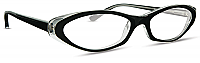 Cinzia Black Eyeglasses CB-19