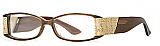 Carmen Marc Valvo Eyeglasses Francesca