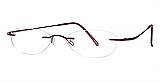Invincilites By Zyloware Eyeglasses Beta Bordeaux Assembled