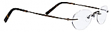 Totally Rimless Eyeglasses TR 145
