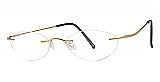 Invincilites By Zyloware Eyeglasses Beta Gold Assembled